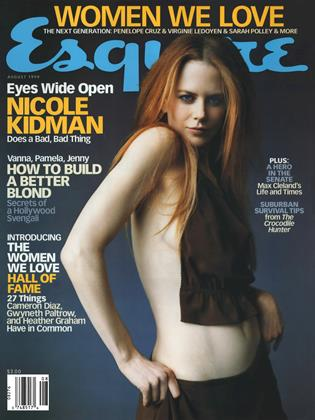 Cover for the August 1999 issue