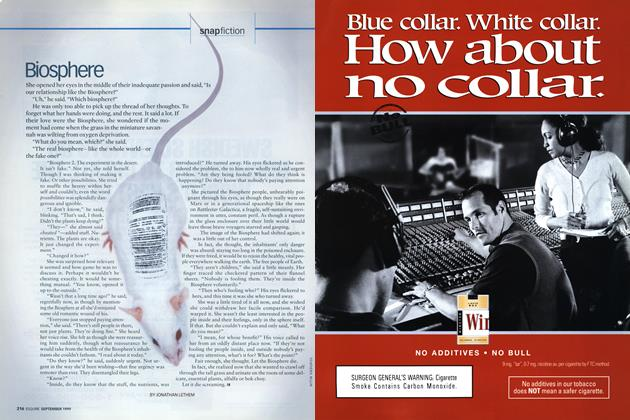 Article Preview: Biosphere, SEPTEMBER 1999 1999 | Esquire