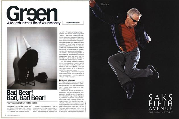 Article Preview: Bad Bear! Bad, Bad Bear!, SEPTEMBER 1999 1999 | Esquire