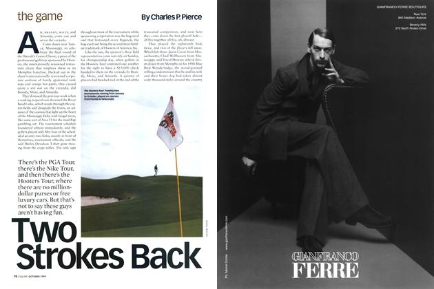 Article Preview: Two Strokes Back, October 1999 | Esquire