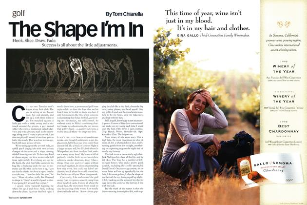 Article Preview: The Shape I'm In, OCTOBER 1999 1999 | Esquire