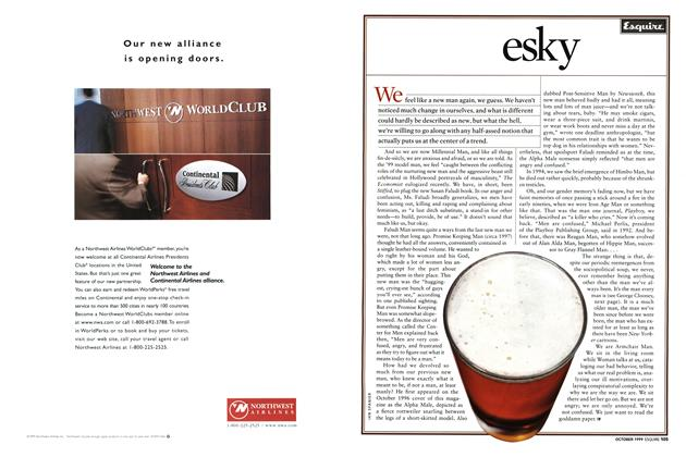 Article Preview: esky, October 1999 | Esquire