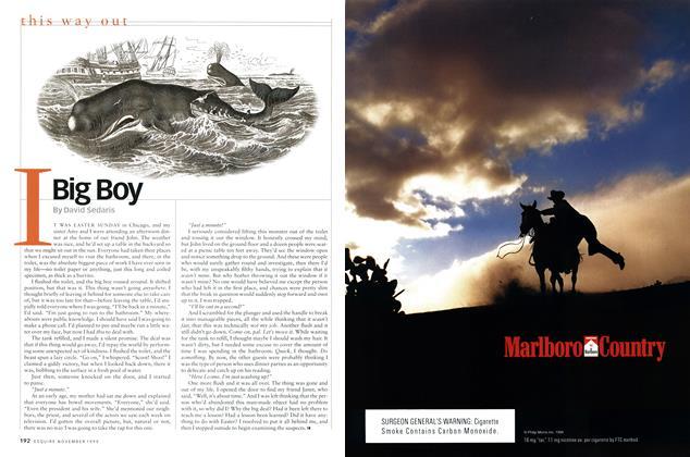 Article Preview: I Big Boy, NOVEMBER 1999 1999 | Esquire