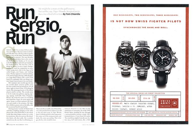 Article Preview: Run, Sergio, Run, NOVEMBER 1999 1999 | Esquire