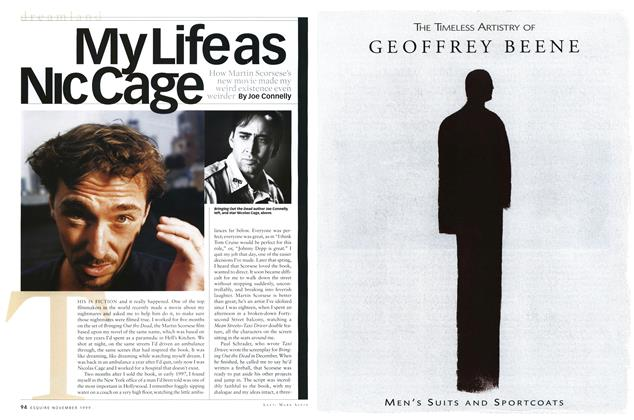 Article Preview: My Life as Nic Cage, November 1999 | Esquire
