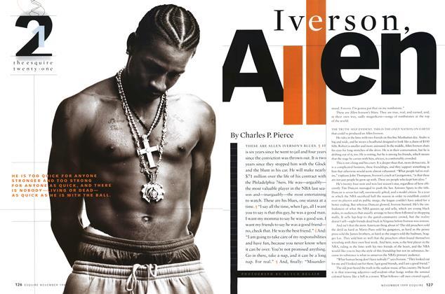 Article Preview: Iverson, Allen, NOVEMBER 1999 1999 | Esquire