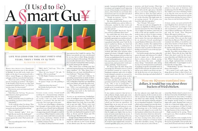 Article Preview: (I Used to Be) A Smart Guy, November 1999 | Esquire