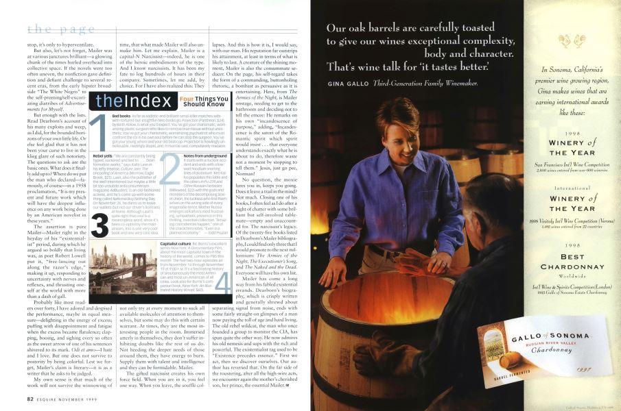 The Index | Esquire | NOVEMBER 1999