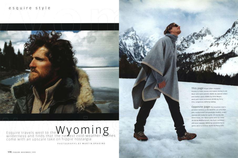 With Winter Comes Inevitable Nostalgia >> Wyoming Esquire November 1999