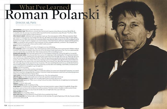 What I've Learned Roman Polanski