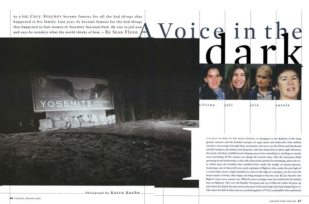 Article Preview: A Voice in the dark, JANUARY 2000 2000 | Esquire