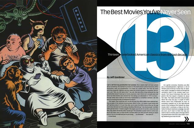 Article Preview: The Best Movies You've Never Seen, January 2000 | Esquire