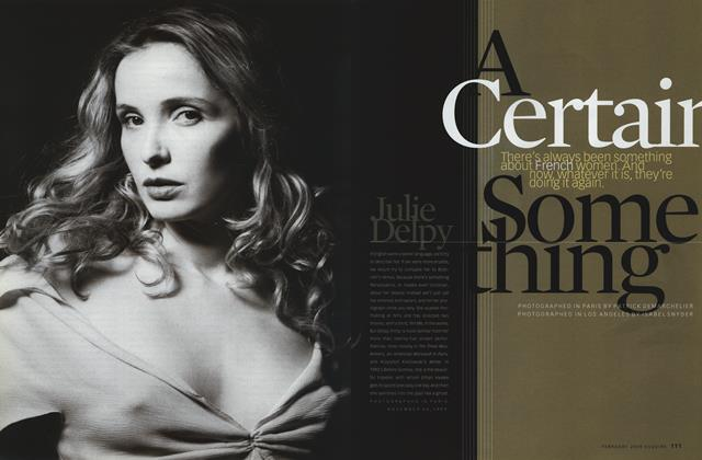 Article Preview: A Certain Something, February 2000 | Esquire