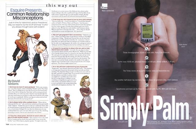 Article Preview: Common Relationship Misconceptions, FEBRUARY 2000 2000 | Esquire