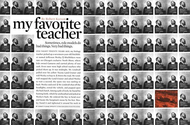 Article Preview: My Favorite Teacher, MARCH 2000 2000 | Esquire