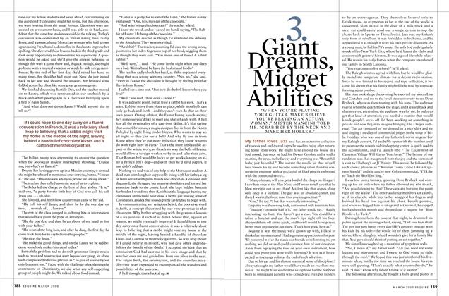 Article Preview: Giant Dreams, Midget Abilities, MARCH 2000 2000 | Esquire