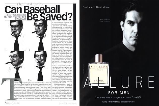 Can Baseball Be Saved?