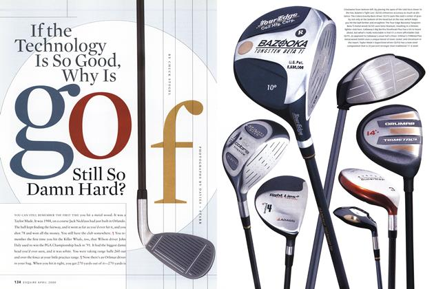 If the Technology Is So Good, Why Is Golf Still So Damn Hard?