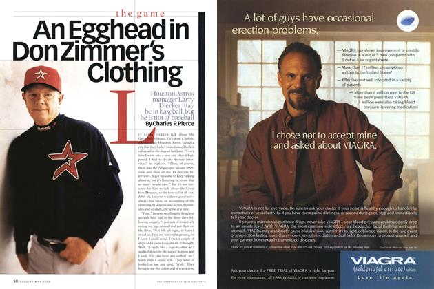 Article Preview: An Egghead in Don Zimmer's Clothing, May 2000 | Esquire
