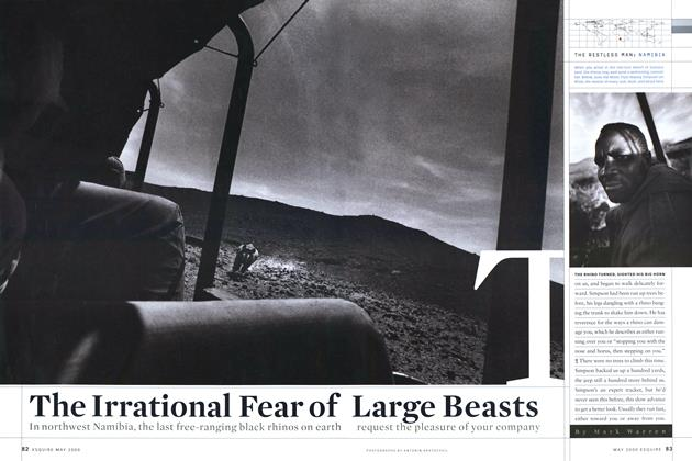 Article Preview: The Irrational Fear of Large Beasts, MAY 2000 2000 | Esquire