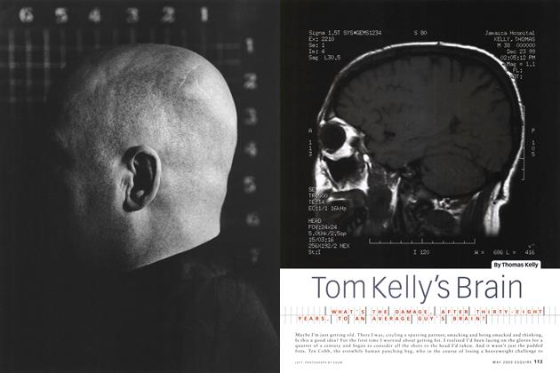 Article Preview: Tom Kelly's Brain, May 2000 | Esquire