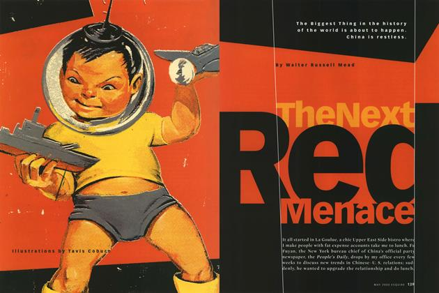 Article Preview: The Next Red Menace, May 2000 | Esquire
