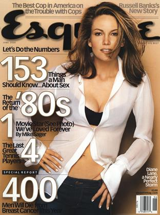 Cover for the June 2000 issue