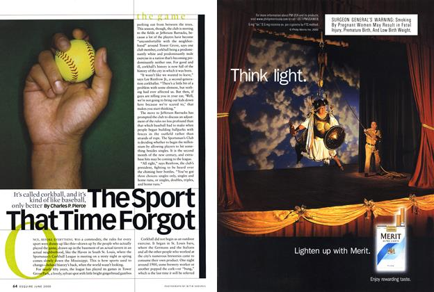 Article Preview: The Sport That Time Forgot, June 2000 | Esquire