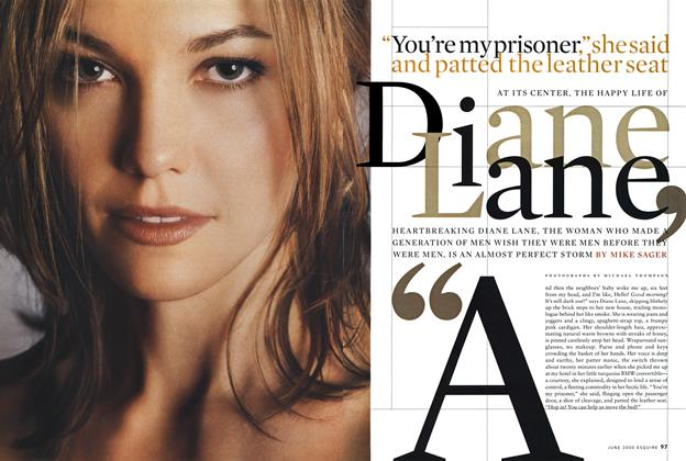 "Article Preview: ""You're My Prisoner,"" She Said and Patted the Leather Seat, JUNE 2000 2000 