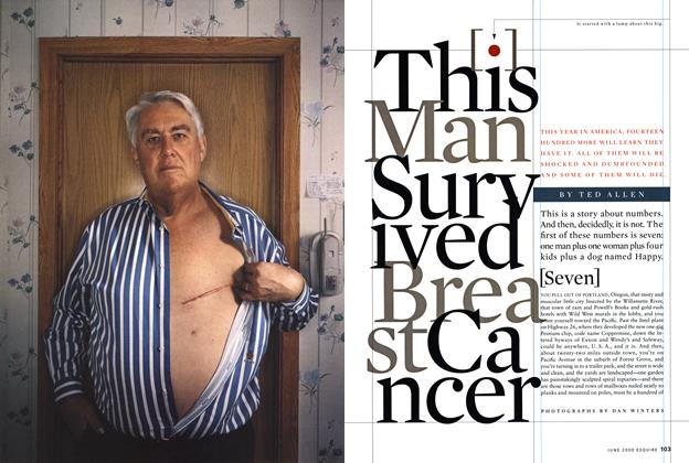 This Man Survived Breast Cancer