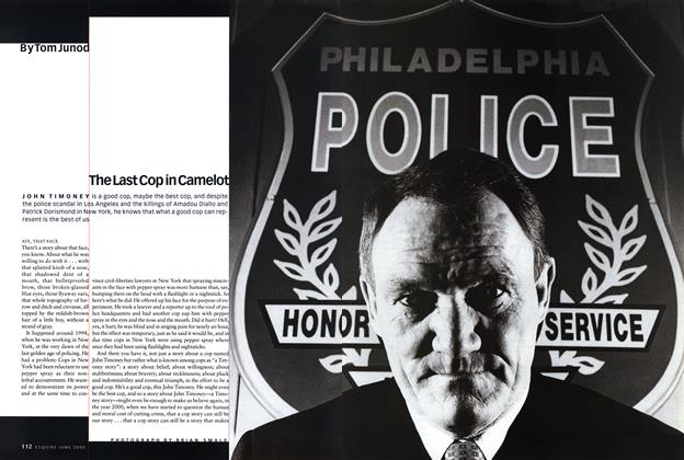 Article Preview: The Last Cop in Camelot, JUNE 2000 2000 | Esquire