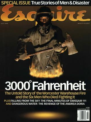 Cover for the July 2000 issue