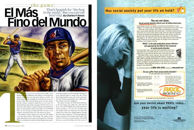 Article Preview: El Más Fino Del Mundo, August 2000 | Esquire