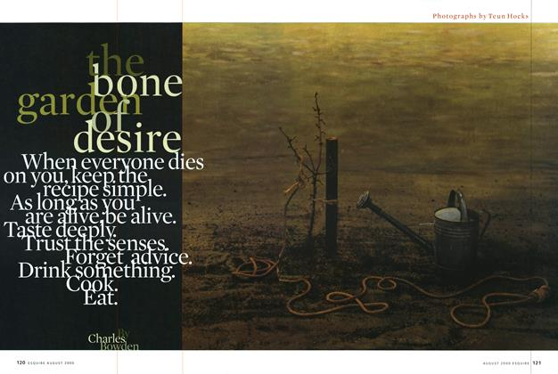 Article Preview: The Bone Garden of Desire, AUGUST 2000 2000 | Esquire