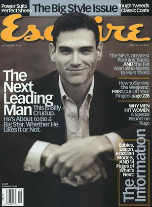 Cover for the September 2000 issue