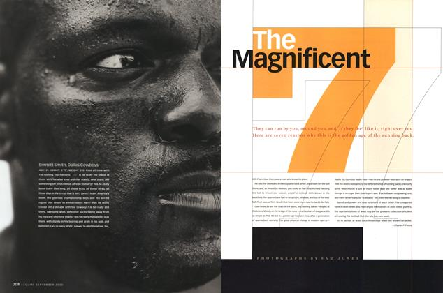 Article Preview: The Magnificent Seven, SEPTEMBER 2000 2000 | Esquire