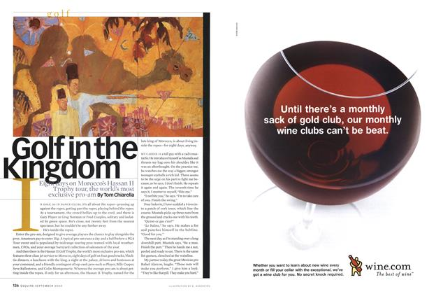 Article Preview: Golf in the Kingdom, SEPTEMBER 2000 2000   Esquire