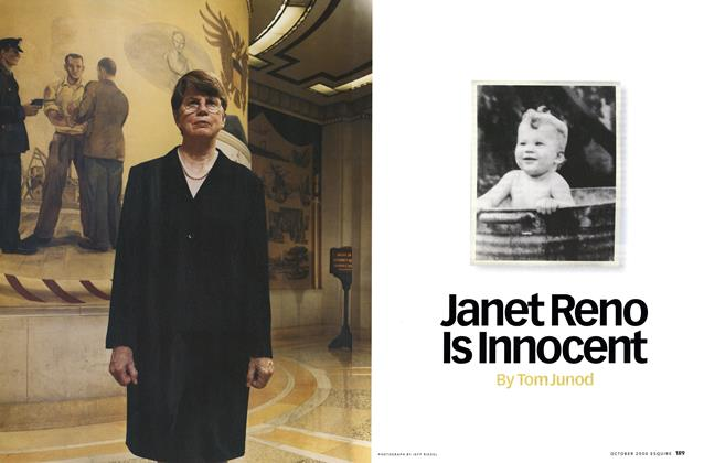 Article Preview: Janet Reno Is Innocent, October 2000 | Esquire