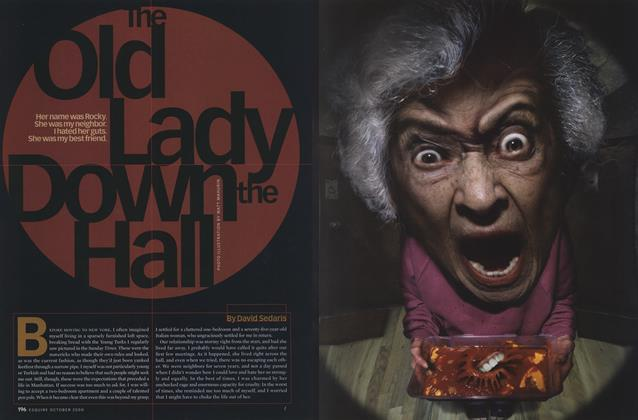 Article Preview: The Old Lady Down the Hall, October 2000 | Esquire