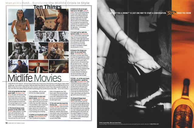 Article Preview: Midlife Movies, OCTOBER 2000 2000 | Esquire
