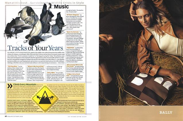 Article Preview: Tracks of Your Years, OCTOBER 2000 2000 | Esquire