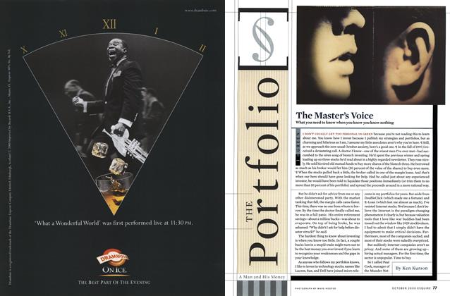 Article Preview: The Master's Voice, OCTOBER 2000 2000 | Esquire