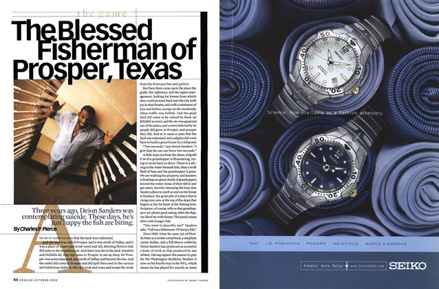 Article Preview: The Blessed Fisherman of Prosper, Texas, October 2000 | Esquire