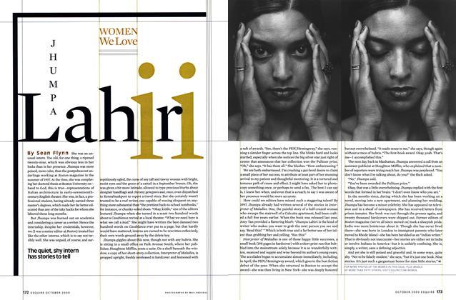 Article Preview: JHUMPA Lahiri, OCTOBER 2000 2000 | Esquire
