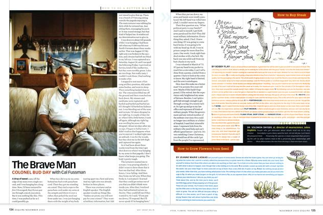 Article Preview: The Brave Man, NOVEMBER 2000 2000 | Esquire