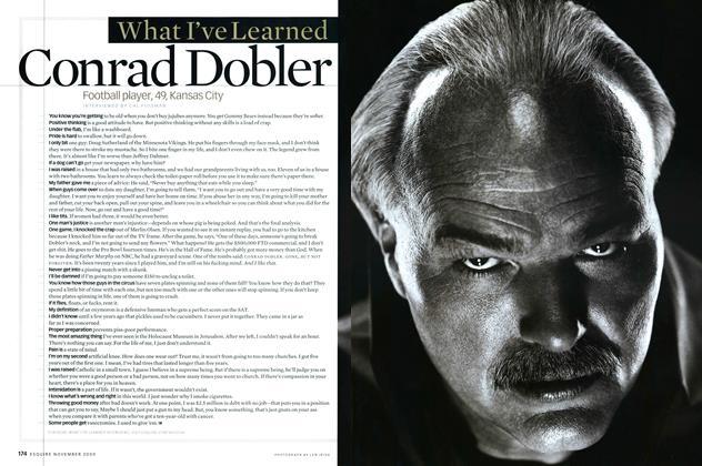 Article Preview: Conrad Dobler, NOVEMBER 2000 2000 | Esquire