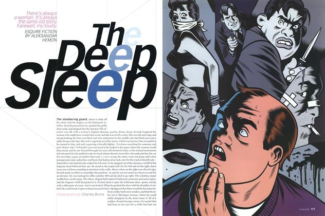 Article Preview: The Deep Sleep, NOVEMBER 2000 2000 | Esquire
