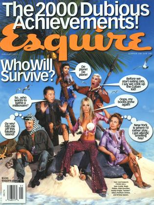 Cover for the January 2001 issue