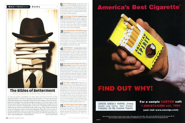 Article Preview: The Bibles of Betterment, JANUARY 2001 2001 | Esquire