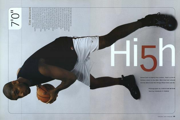 Article Preview: Hi5h, January 2001 | Esquire